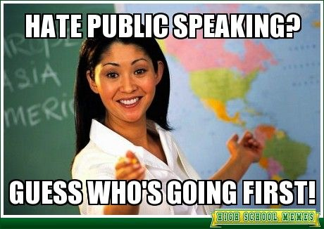 public speaking hate it Fear of public speaking often feels like it hits you out of nowhere but i'm going to suggest that there are three distinct causes of speech anxiety these.