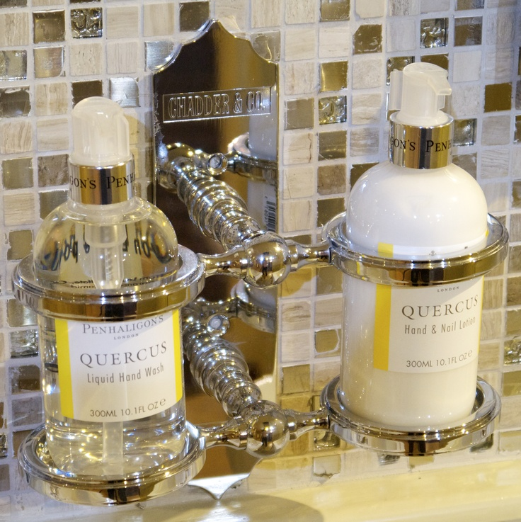 Chadder  penhaligons Penhaligon Double wall mounted Soap dispenser holder   Nickel finish   chadderUK. 17 Best images about Bathroom Accessories on Pinterest