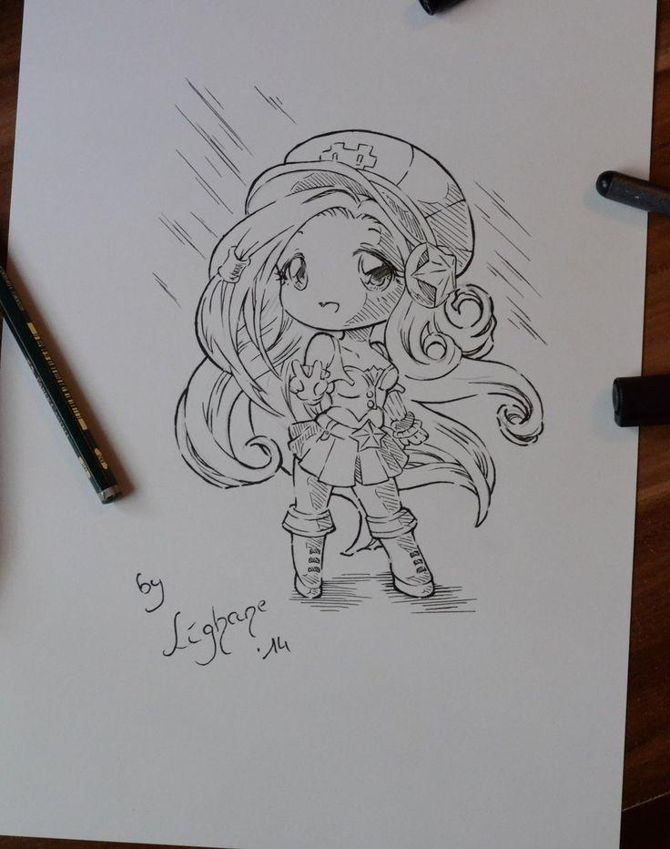 Chibi Arcade Miss Fortune by Lighane.deviantart.com on @DeviantArt
