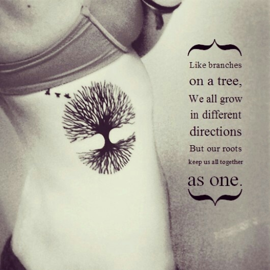 Tree of Life.. My thought for possible new tattoo! I want to add 2 hanging hearts for my Mema  and Grandaddy.