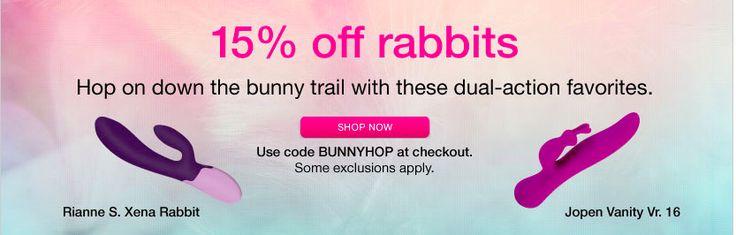 Babeland Rabbit Vibe Sale