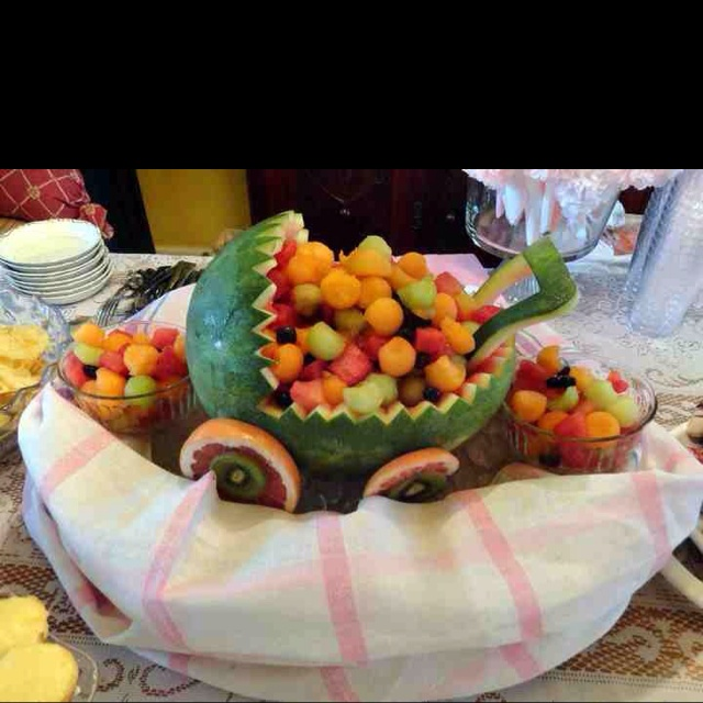 Fruit Baby Carriage