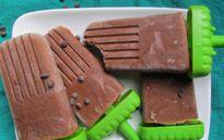 Παγωτίνια σοκολάτα - αβοκάντο - Xωρίς γαλακτοκομικά!