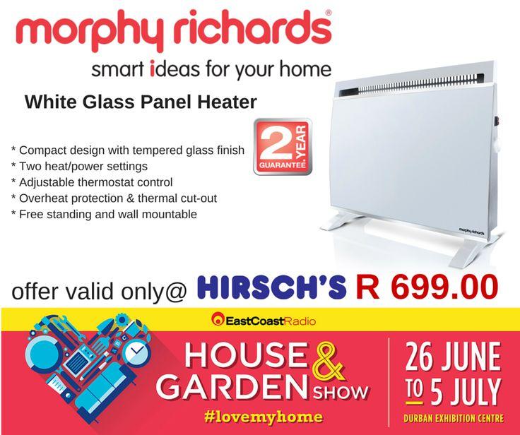 White Glass Panel Heater