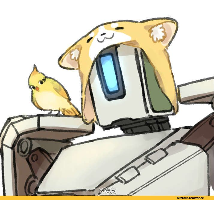Overwatch,Blizzard,Blizzard Entertainment,фэндомы,Overwatch art,5363233,Roadhog,Pharah,Bastion (Overwatch),Mei (Overwatch),Zarya,Symmetra,Lucio,Genji (Overwatch),Torbjorn,cats,котэ,прикольные картинки с кошками