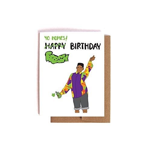 Fresh Prince of Bel Air Will Smith Birthday Card