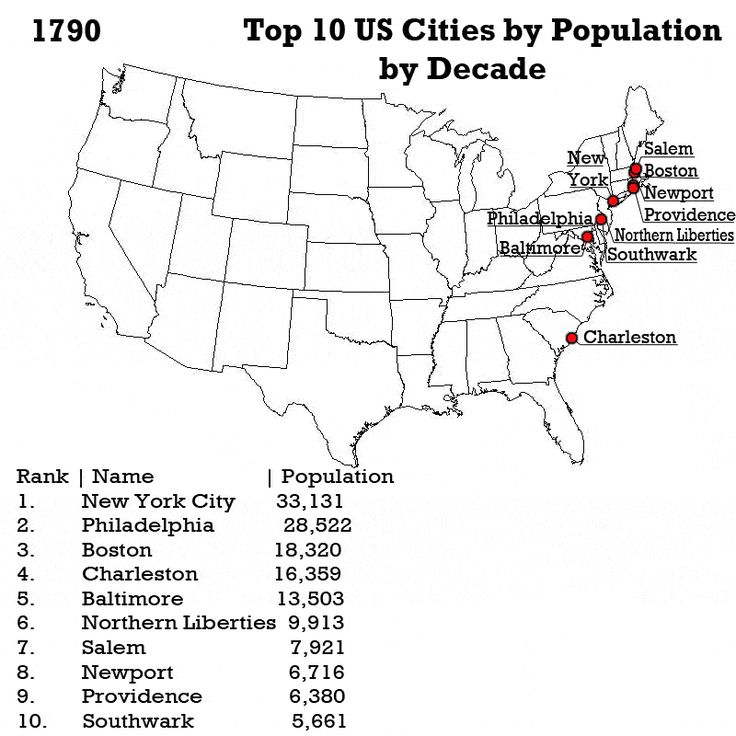 ThirtyThree Maps That Explain The United States Better Than Any - Us population density map 1790