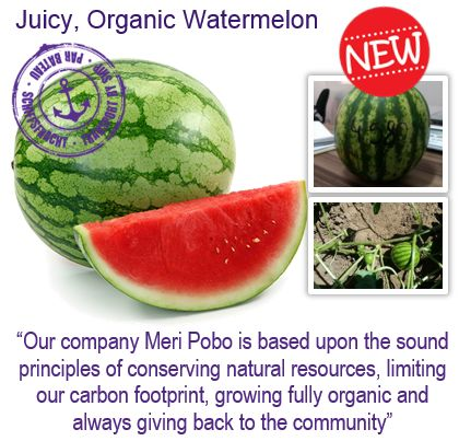 #natureandmore #organic #watermelon #meripobo #juicy