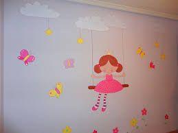 Resultado de imagen para imagenes de cuartos pintados para niñas