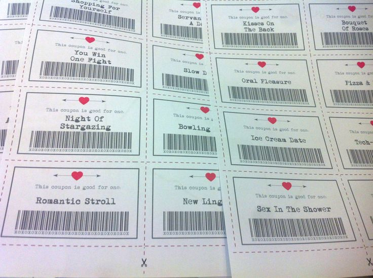 Love Coupons, 32 Printable Coupons, Valentine Printable, Downloadable Gifts, Instant Download, Gift For Her, Gift For Him, Valentines Day by LoveMessagesXO on Etsy