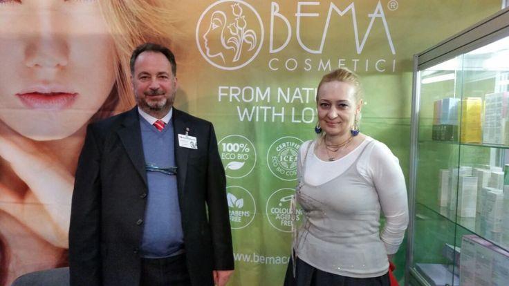 The team of Bema Cosmetici @ KazInterBeauty in Kazakistan
