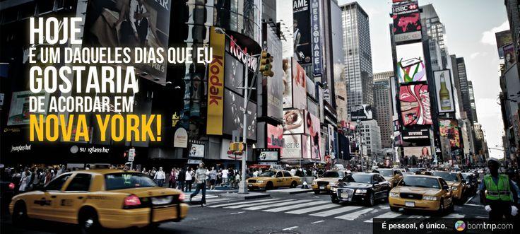 Monte o SEU roteiro e conheça NY do seu jeito! www.bomtrip.com