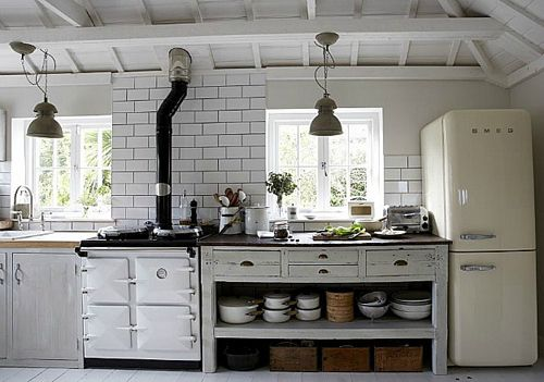 """Home: Eleven Kitchen Inspirations  (""""The Oyster Catcher:"""" Hooked on Houses)"""