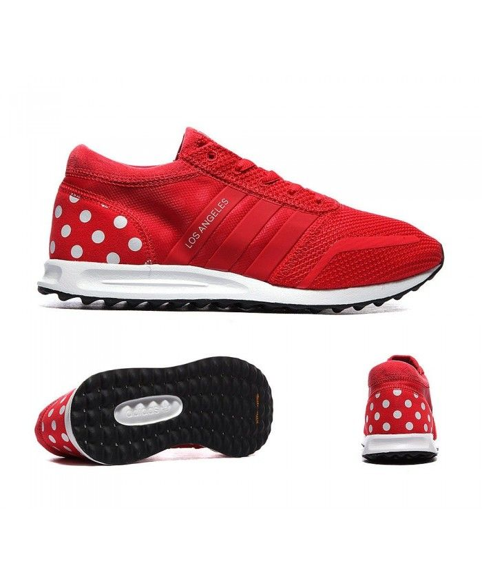 Womens Adidas Originals Los Angeles Tomato and White Trainer Design  standards are very high, shoes