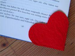 Muttertag Herz Lesezeichen
