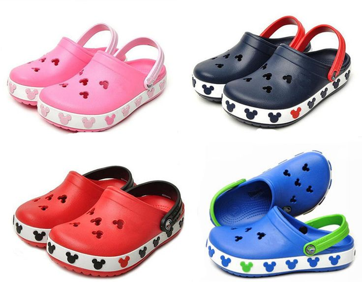 2015 Toddler Brand New Summer Style 3D Cartoon Minnie Mickey Model Girls Boys Beach Slippers Gifts
