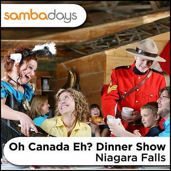 Dine for Two at Oh Canada EH? Dinner Show, Niagara Falls, ON