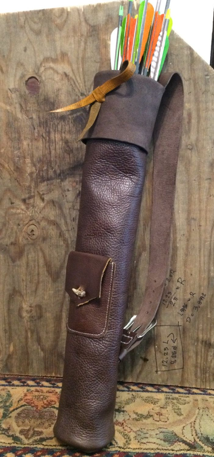 Leather Quiver