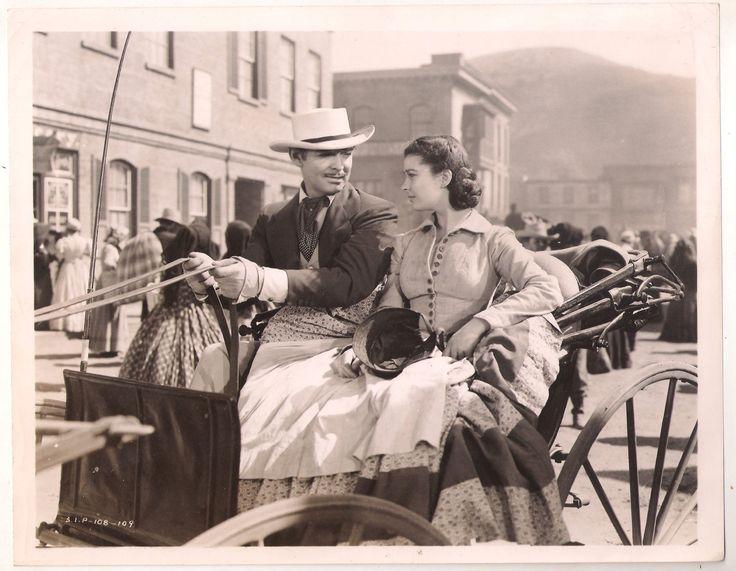 F9176 Clark Gable Vivien Leigh Gone with The Wind US Original B w Photo 8x10 | eBay