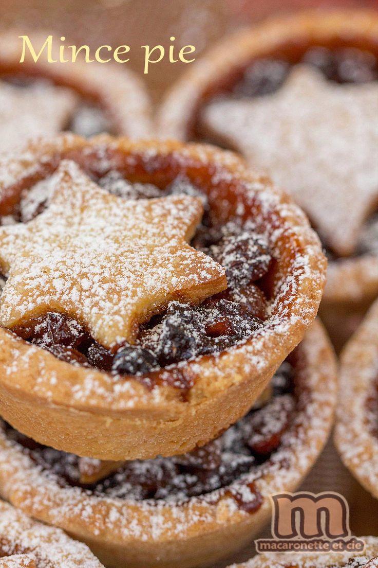 Mince pie de Noël au Mincemeat maison - Macaronette et cie