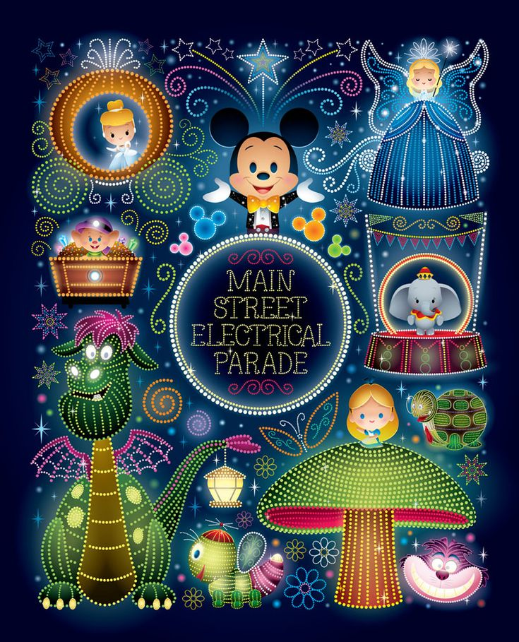 "Ladies and Gentlemen, boys and girls! ""Nighttime Magic"" - Available Saturday, March 4th at WonderGround Gallery located in the Downtown Disney® District at the Disneyland® Resort (Anaheim, CA). I'll..."