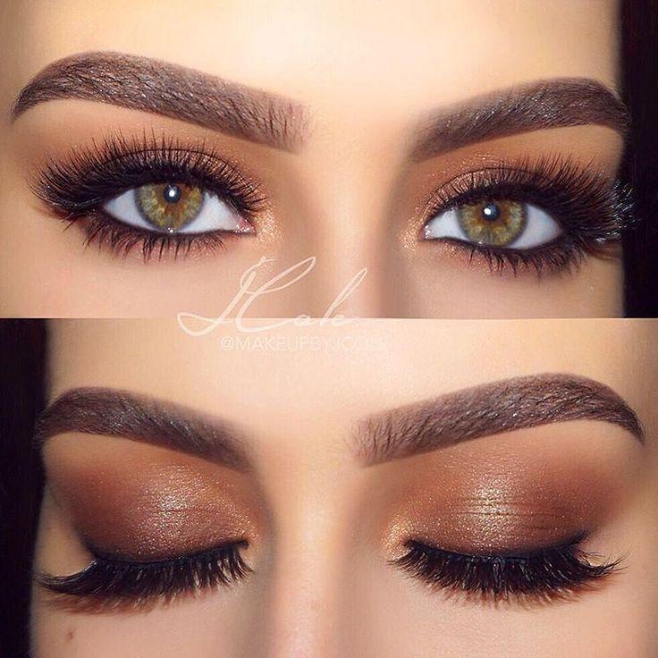 chocolate brown smokey eye @makeupbyjcole #makeup #neutral