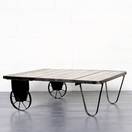 industrial look table - Google Search