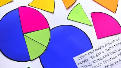 FREE Pie Chart Templates to Teach Fractions  Hi there - Rachael Parlett here from The Classroom Nook!  For many students visualizing fractions plays a huge role in their understanding of the concept. One easy way to help students to see how fractions compare and relate to each other is to use a pie chart template.  Grab your free set of pie chart templates HERE  fractions