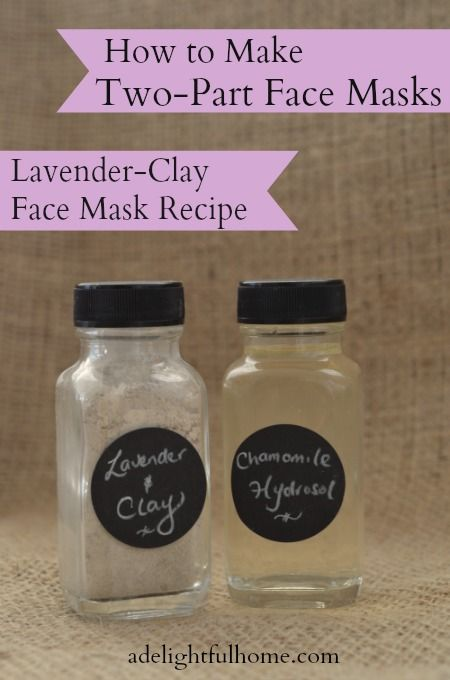 Clay and Lavender Face Mask (Plus: How to Gift a Face Mask)
