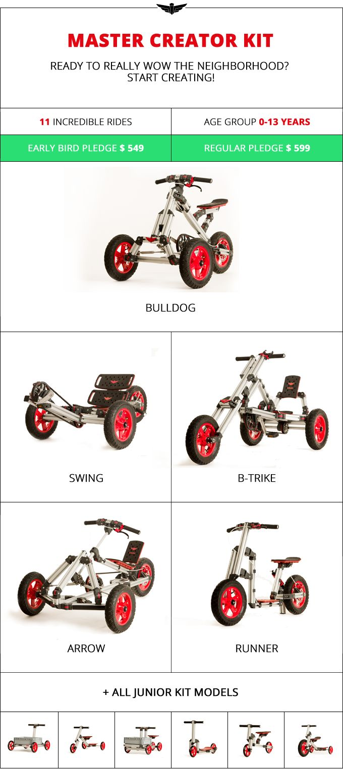 Infento: World's First Real Constructible Rides by Infento Rides