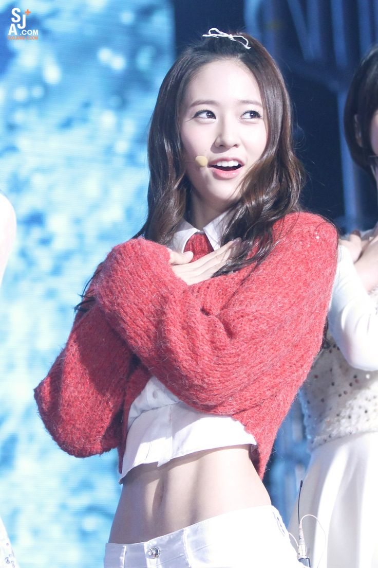 Krystal f(x), waaaayyy too small size for me but those soft abs, I want them!!