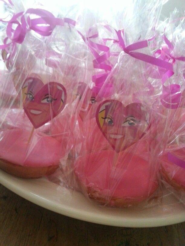 Roze Mega Mindy Koeken