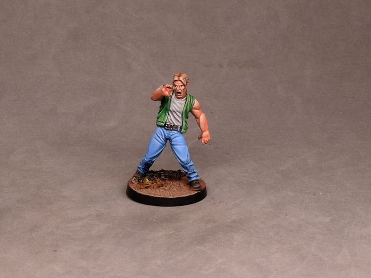 Painting tutorial for Liam Walking Dead All Out War