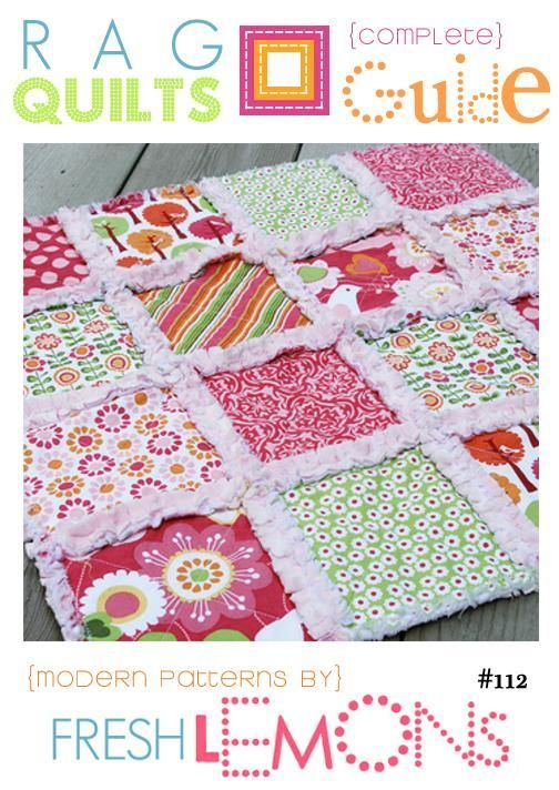 184 Best Images About Rag Quilts On Pinterest