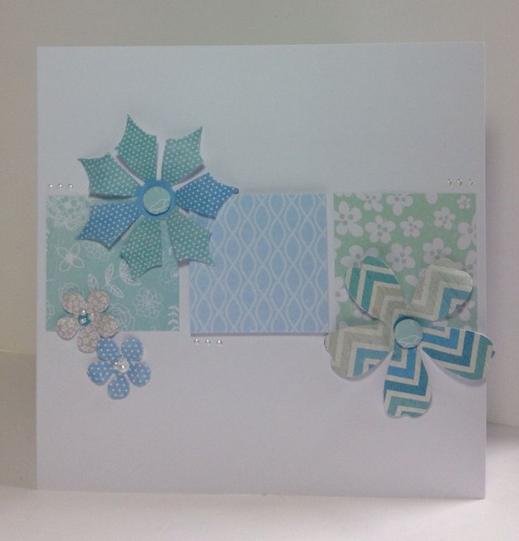 Card designed by Julie Hickey using the Serenity collection.