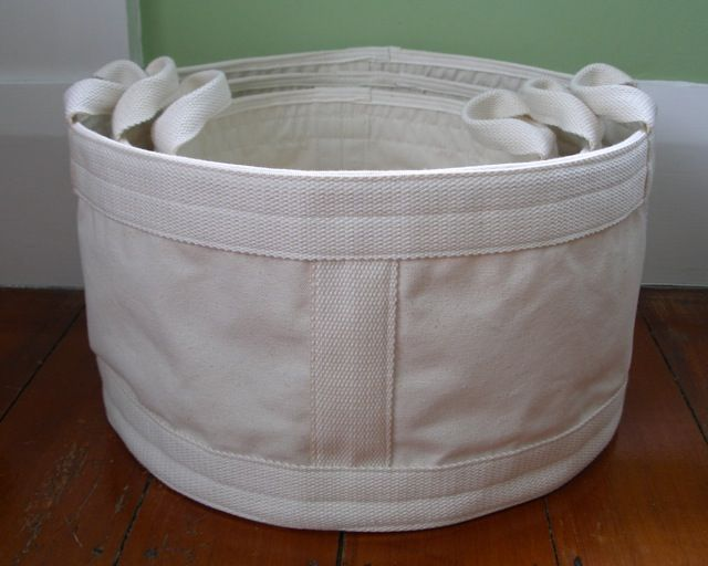 small, medium and large floor storage bags