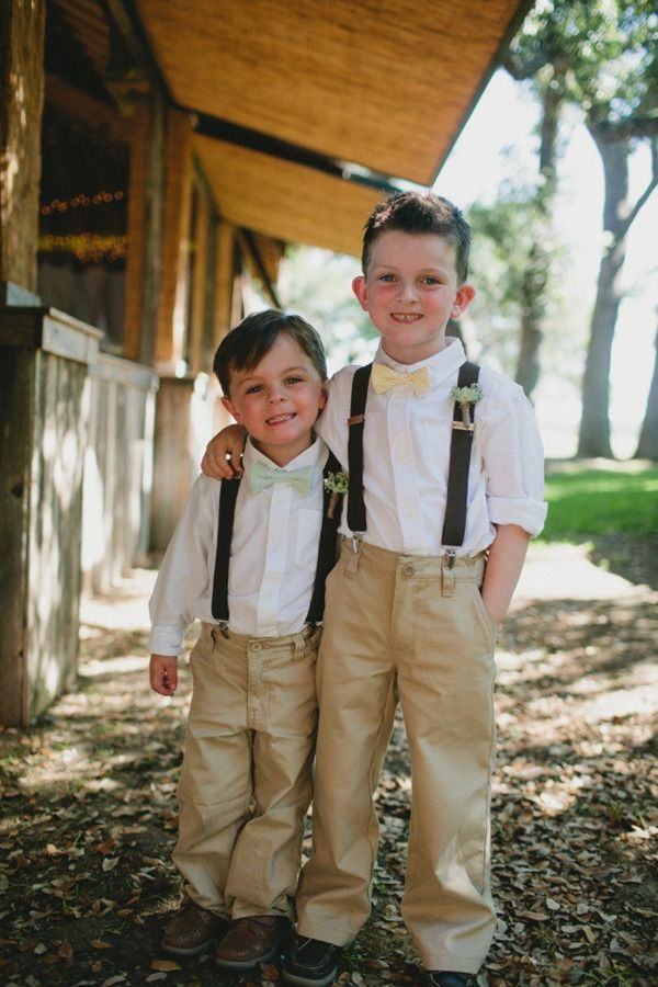 precious ring bearers :) @Melody Ogles this will be your two little ones at my wedding one day!