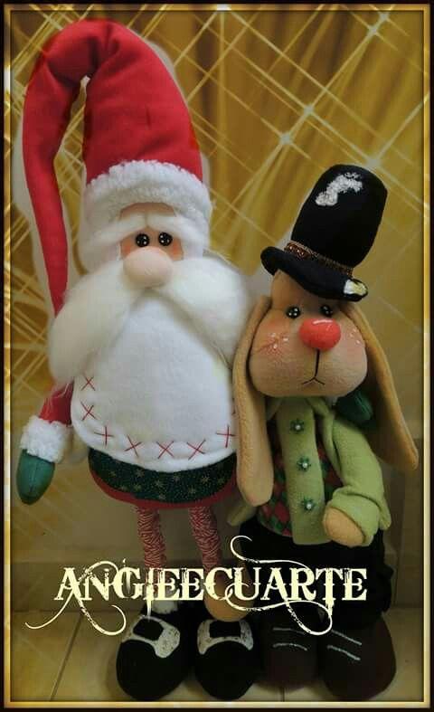 Santa y su amigo