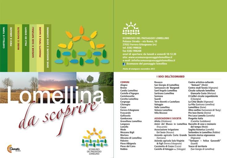 Ecomuseo del Paesaggio Lomellino - brochure