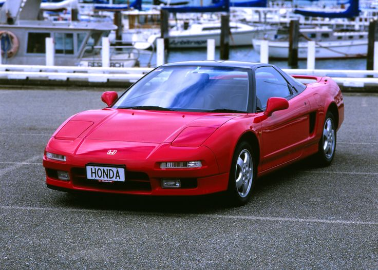 Perfectly proportioned Honda NSX