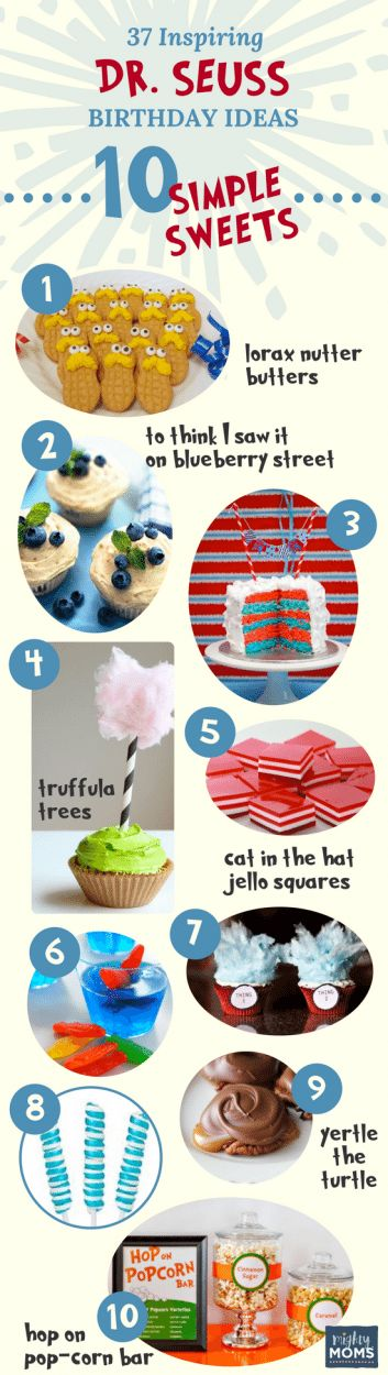37 Inspiring Dr. Seuss Birthday Ideas for the Most Fantastic Party in Whoville - Simple Sweets