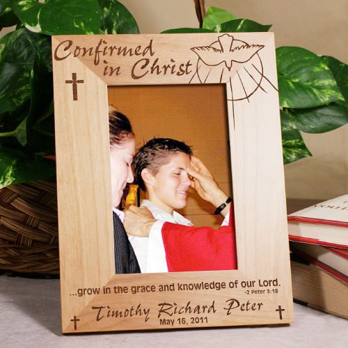 Communion, Confirmation and Baptism Frames Wood Picture Frames