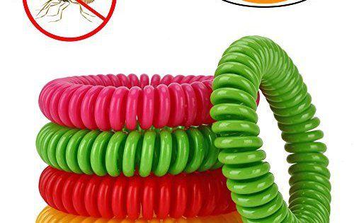 Tenn Well Bracelet Anti-Moustique Répulsif aux Ingrédients Naturels Multi Couleurs Sans DEET Idéal pour Avoir une Protection Parfaite pour…