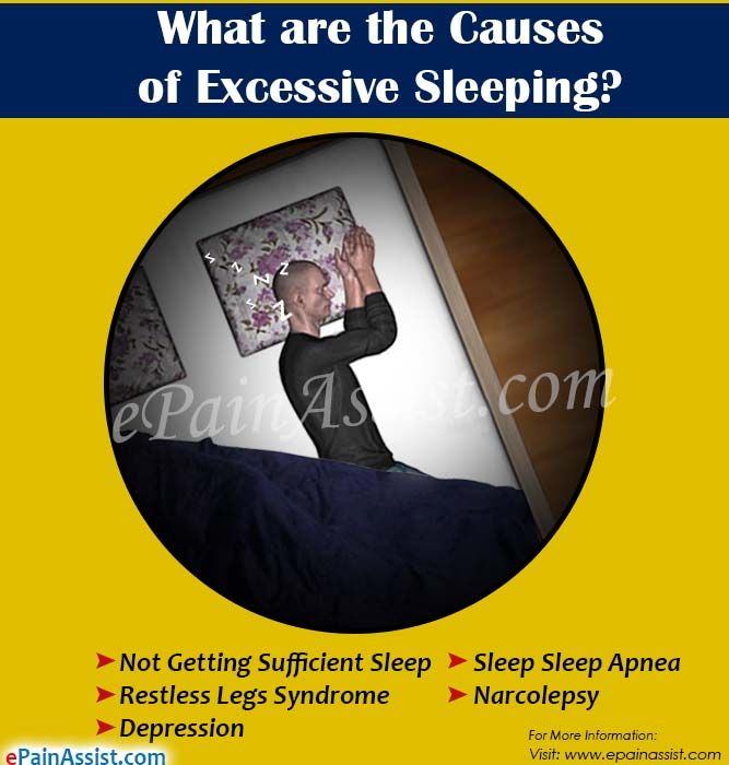 What are the Causes of Excessive Sleeping?