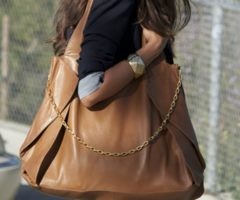 big brown bag