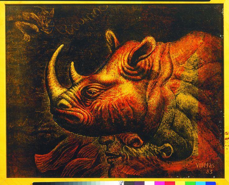 Armando Villegas - profilo di rinoceronte