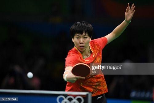 China's Li Xiaoxia hits a shot against Taiwan's... #apoldudesus: China's Li Xiaoxia hits a shot against Taiwan's Cheng… #apoldudesus