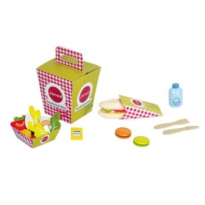 dramatic play. sandwich box