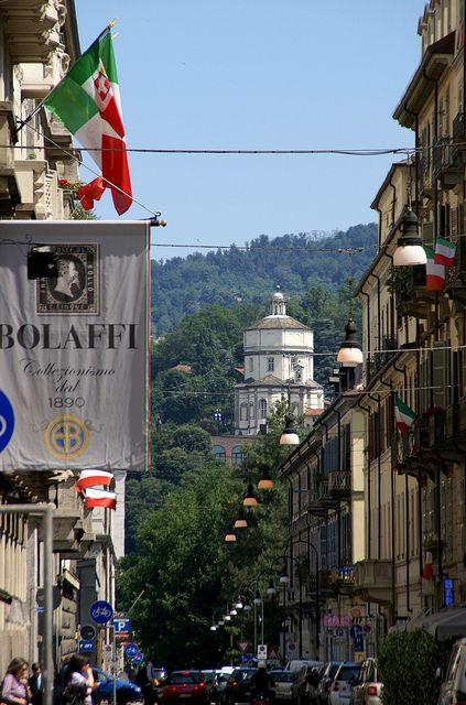 Via Cavour, Turin, Italy