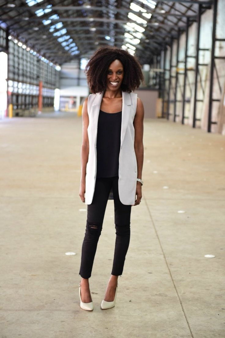 Mama Stylista spotted in our Long Line Vest!